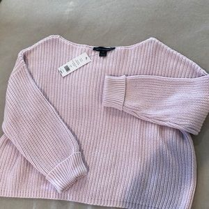French connection lavender frost  size med sweater